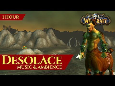 Desolace - Music & Ambience (1 hour, 4K, World of Warcraft Vanilla)