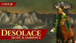 Vanilla Desolace - Music & Ambience (1 hour, 4K, World of Warcraft Classic)