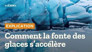 Réchauffement climatique, la fonte des glaces s'accélère