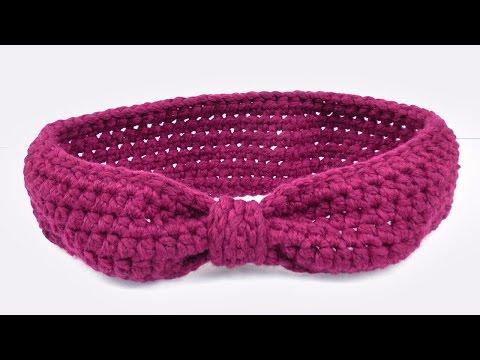 Stirnband im Schleifen Look | Cooles Stirnband für den Winter Häkeln | Einfache Anleitung