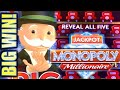 ★HUGE MONOPOLY BIG WIN!★ 🎩 MONOPOLY MILLIONAIRE & MONOPOLY JACKPOT STATION Slot Machine (SG)