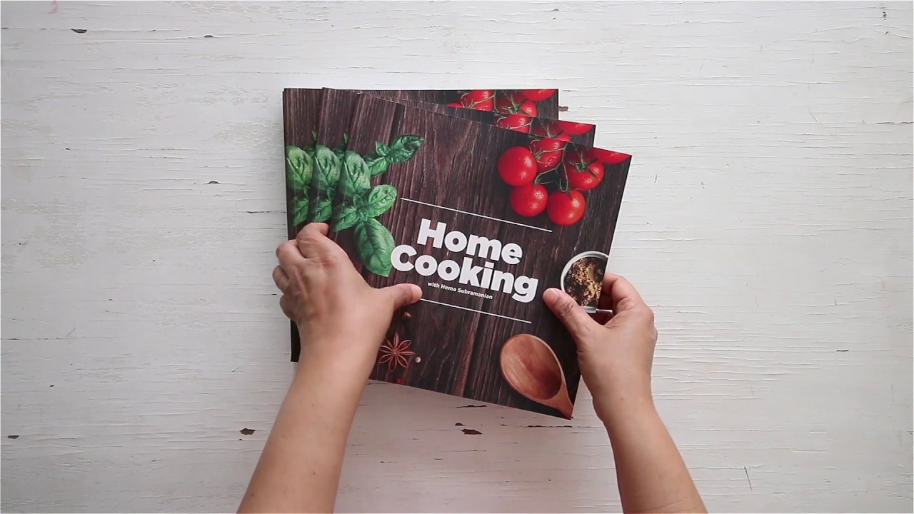 Home Cooking Cookbook Launch Youtube
