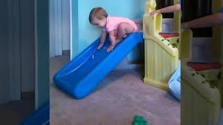 cute baby playing ll   Funny Fails Video llcute baby fun