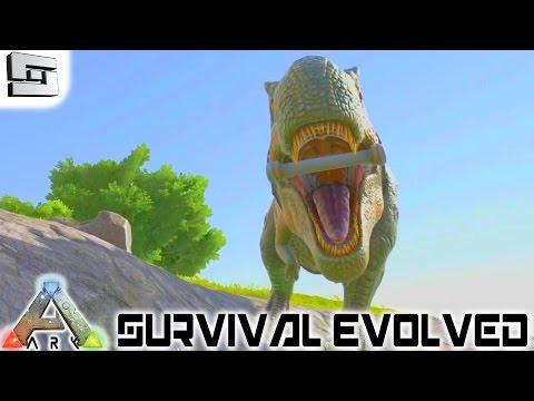 ARK: Survival Evolved - LEVEL 100 TREX! E24 ( Gameplay )