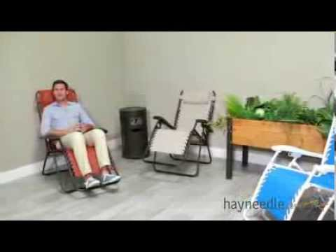 Beau Caravan Canopy Zero Gravity Lounge Chair   Product Review Video   YouTube