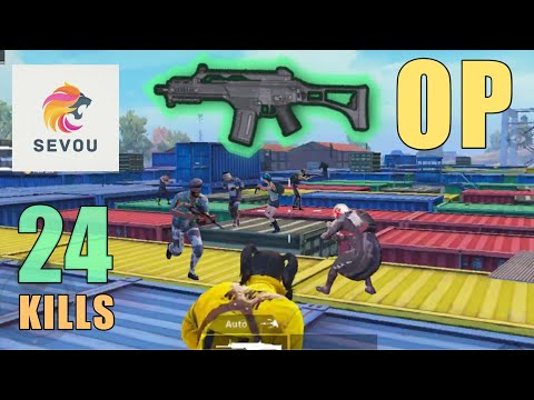 NEW AR WEAPON IS MIND-BLOWING!!!   24 KILLS   PUBG MOBILE