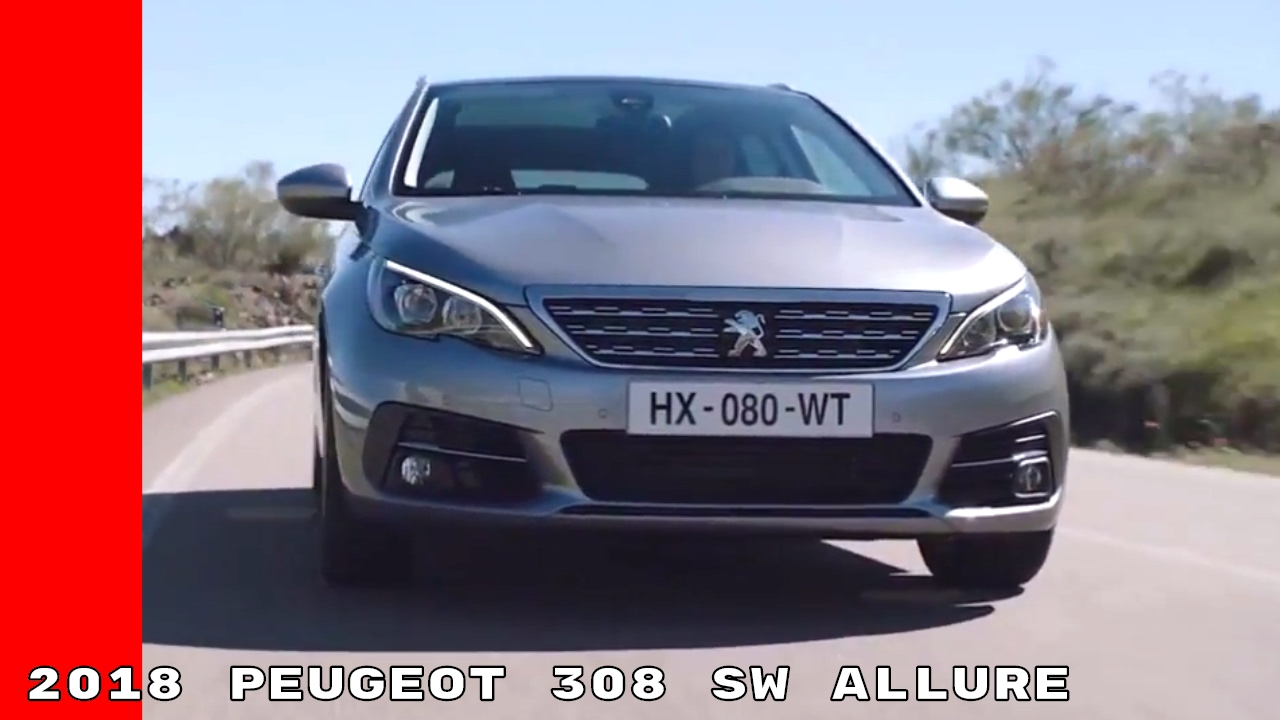 2018 peugeot 308 sw allure youtube. Black Bedroom Furniture Sets. Home Design Ideas