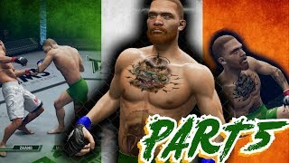 (STRUGGLE) Conor McGregor Career  THQ UFC Undisputed 3 2012 PART 5 STARTING TO FEEL IT