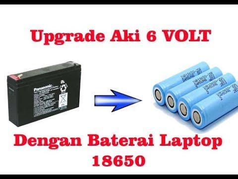 Mengganti Baterai Mainan Mobil Aki dengan Battery Laptop 18650