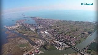La magia di Chioggia e Sottomarina fotografate dall'alto