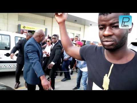 Bernice Chegada a Luanda sob forte esquema de Segurança