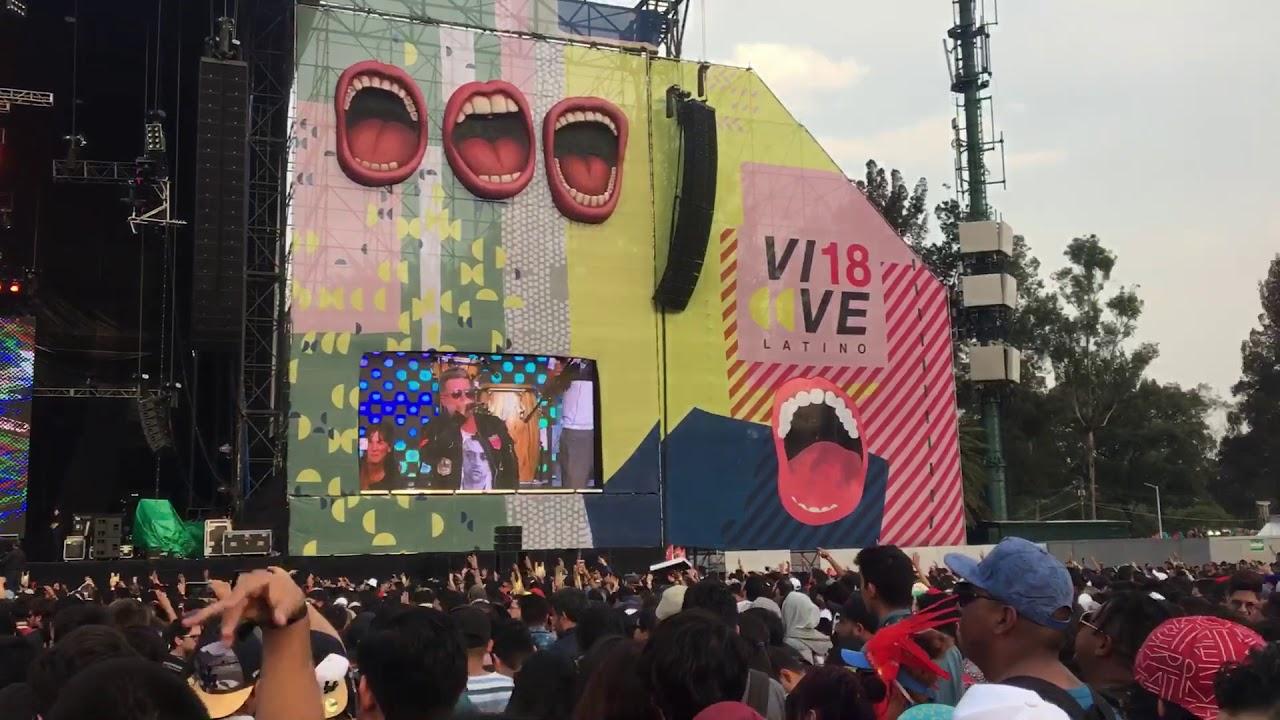 En el Vive Latino 2018