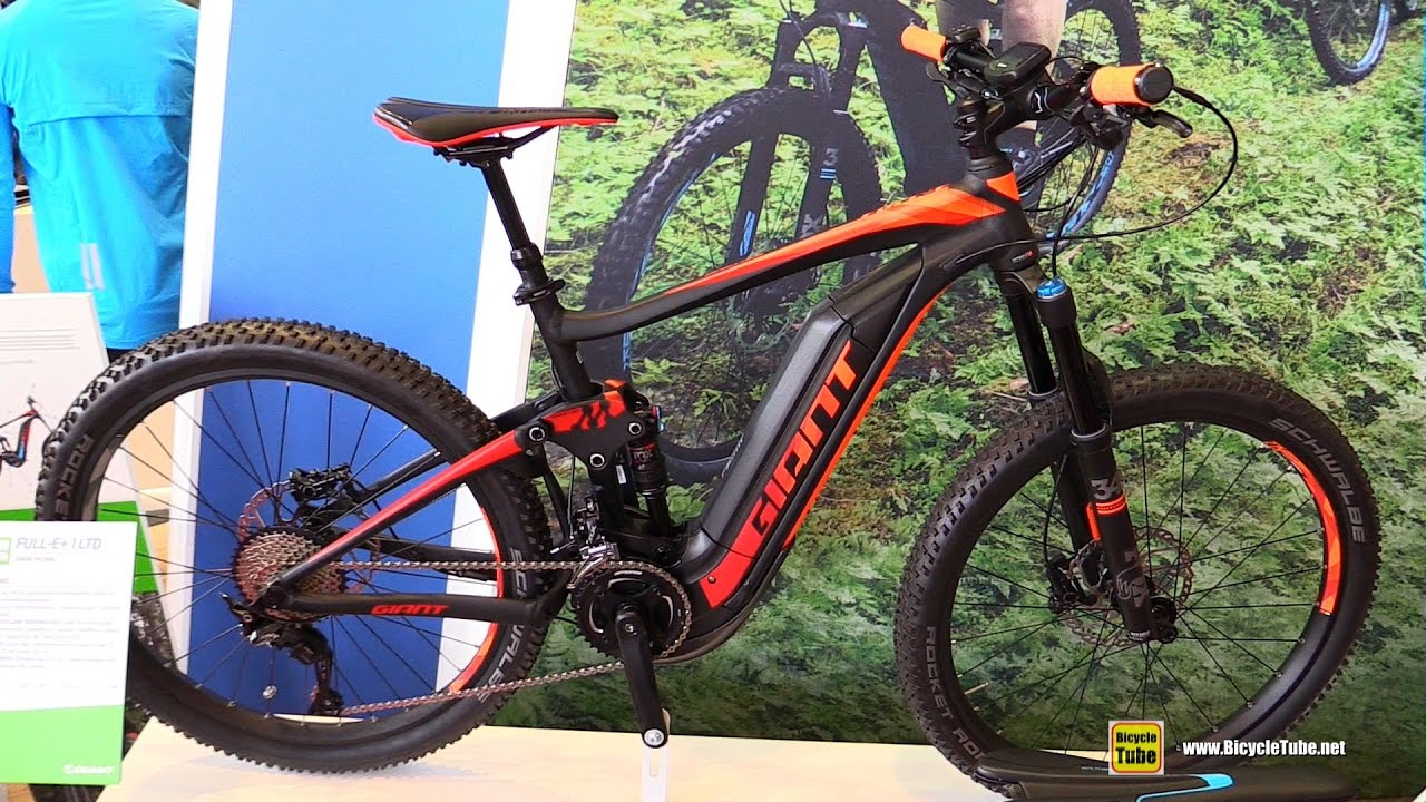 2017 giant full e 1 ltd electric mountain bike walkaround 2016 eurobike youtube. Black Bedroom Furniture Sets. Home Design Ideas