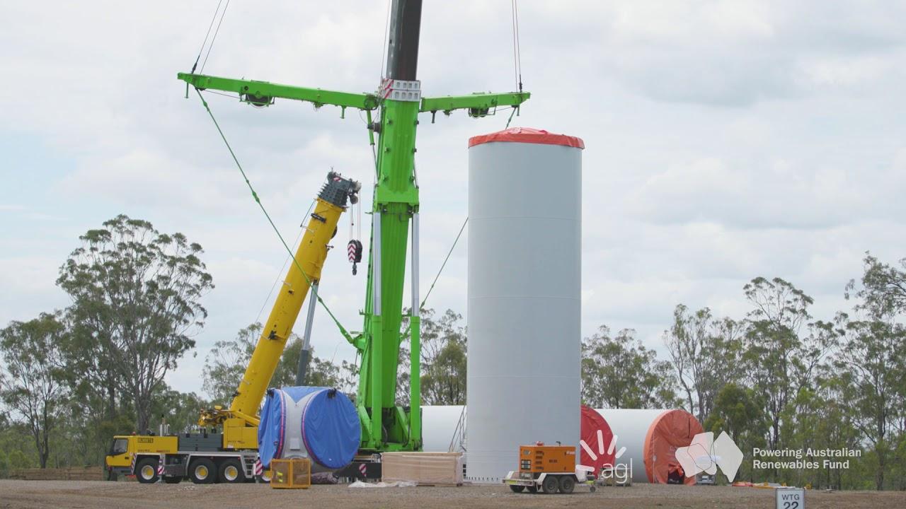 Coopers Gap Wind Farm: Construction Update Nov 2018