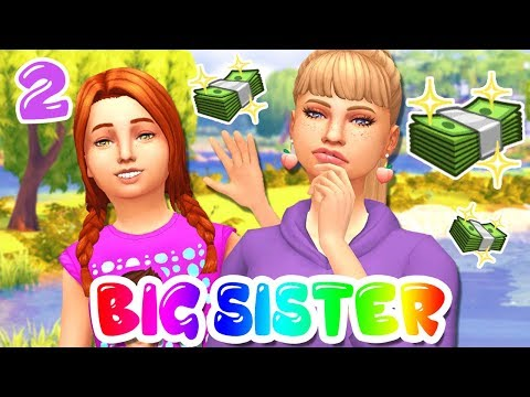 LEXI NEEDS MORE MONEY!! BIG SISTER CHALLENGE #2 | The Sims 4: Let's Play! thumbnail