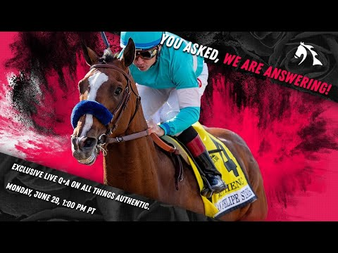 MyRacehorse Live Chat: All Things AUTHENTIC