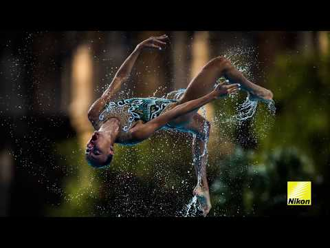 Nikon at FINA 2017: Liquid light, Synchro Photography Tips,  with Lukas Schulze