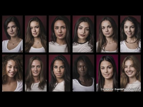 Miss Suisse Francophone 2017-Our Top 12