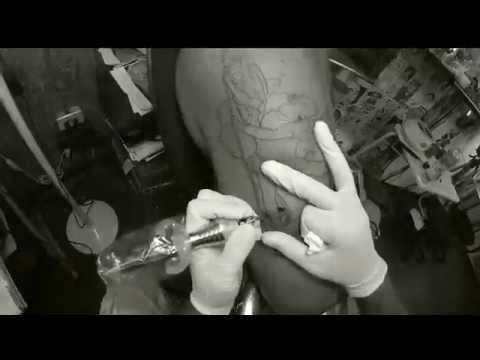 Tattoo San Miguel arcangel  en progreso