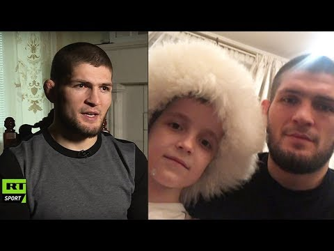 Khabib Nurmagomedov answers if his son will become a professional MMA fighter (translated)