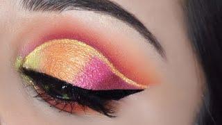 हुडेड आई पर कट क्रीज़ आई मेकअप कैसे करें How To Easy Cut Crease Eye Makeup For HOODED EYES