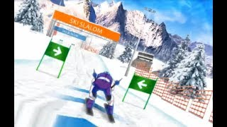 Ski Slalom 3D Game Walkthrough