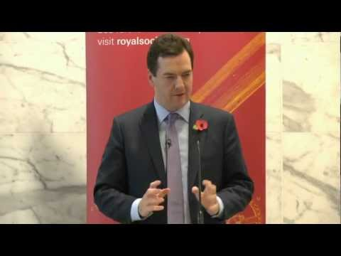 Chancellor speaks at the Royal Society