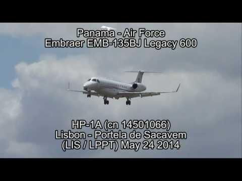 Panama - Air Force Embraer EMB-135BJ Legacy 600 HP-1A (cn 14501066)