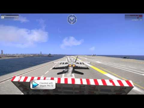 ArmA 3 #4 USS Nimitz «» Big Aircraft Carrier «» Showcase/Test | Full HD