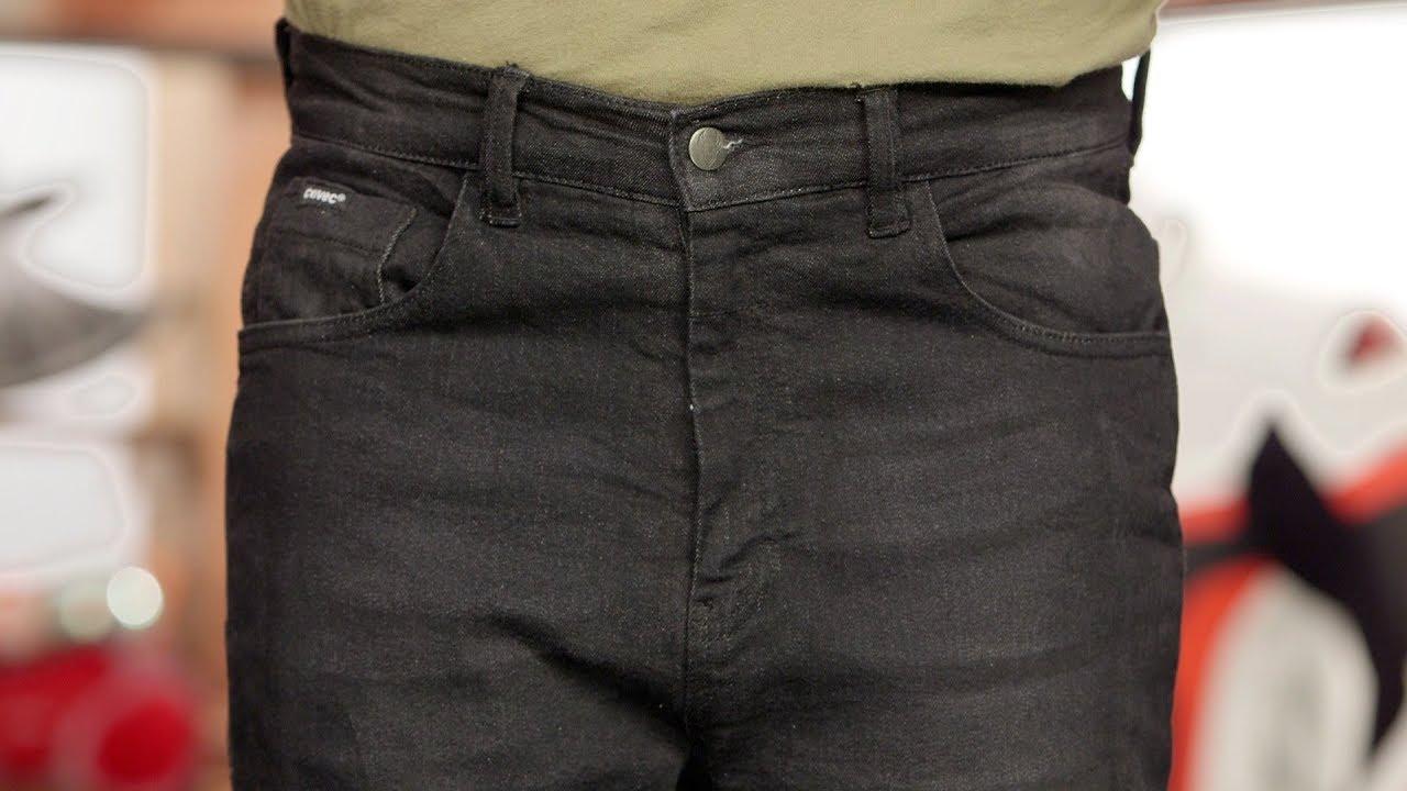 Bull-It Black Covert Sp120 Slim 32 Waist, Black Regular Motorcycle Jeans