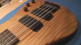 The Warwick Streamer STD 5 Bass Guitar