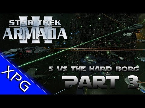 Lets Play... Star Trek Armada 3 (5 Players vs Borg) Part 3 (Sins of a Solar Empire Total Conversion)