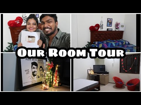 Shocking News | Most Awaited Our Room Tour | Revealing Silver Button | RJ RoomVlog | WakeFit|Rjvlogs