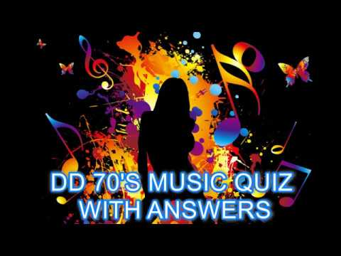 DD 70S MUSIC QUIZ WITH ANSWERS