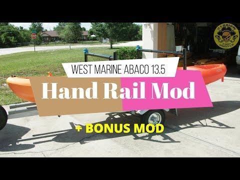 West Marine Abaco 13.5 Tandem Kayak Hand Rail Mod - Florida Fish Hunter