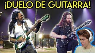 John Petrucci DESAFIA a Lil Wayne En Solo De Guitarra *IMPERDIBLE*
