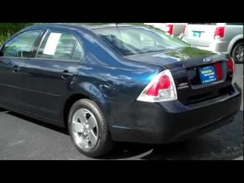 Dark Blue Ink 2008 Ford Fusion For Near Buffalo Ny