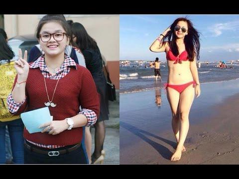 Bí quyết giảm cân 26kg trong vòng 2 tháng của hotgir xinh đẹp