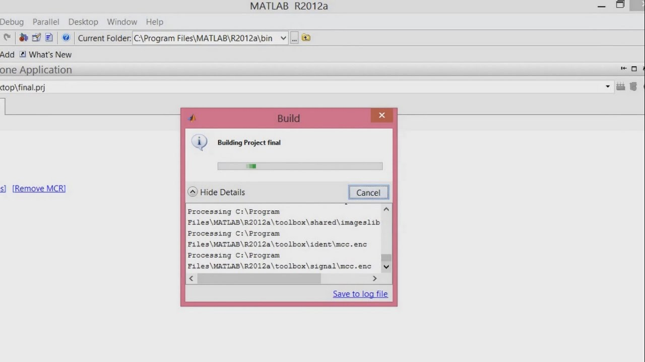 Convert MATLAB code in to Executable file ( m to  exe file in MATLAB using  deploytool)