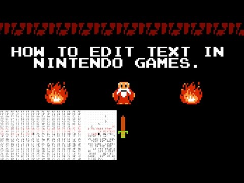 How to Edit Text in Nintendo Games - NES Hacking: Part 4