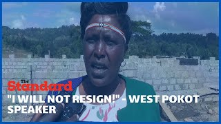 West Pokot County Speaker vows not to resign despite wrangles between her and Governor Lonyangapuo