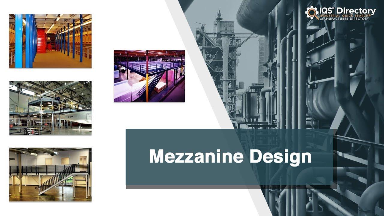 Mezzanine Design Companies | Mezzanine Design Services
