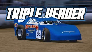 rFactor: Triple Header! (Multi Class Dirt @ Waikaraka Park)