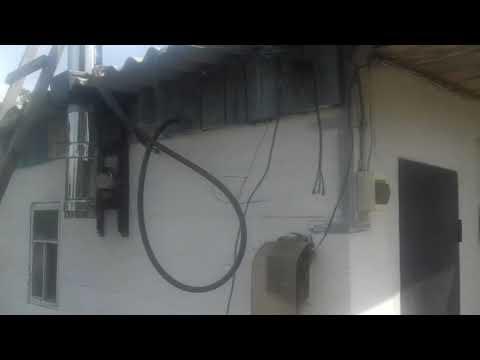 Дымоход из нержавейки на баню - YouTube