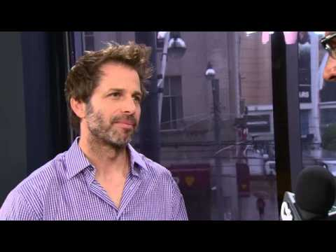 Raw video: 'Man Of Steel' director on making of new film
