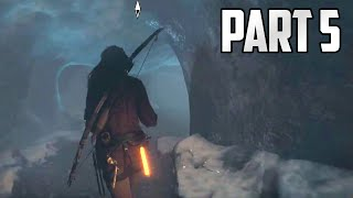 "Rise of the Tomb Raider Walkthrough - Part 5 ""SLAY THE EVIL BEAR"" (Let"