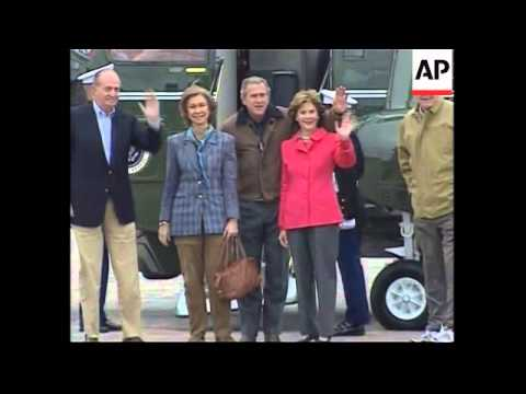 WRAP King and Queen of Spain meet with Bush at Texas ranch