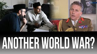 The Risk of World War 3?? - REACTING TO HEAD OF BRITISH ARMED FORCES!