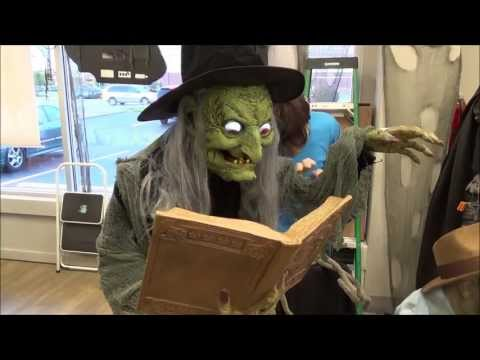 Thumbnail: Fortune Teller Talking Witch Halloween Prop and More Cool Stuff Fungus Amongus