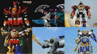 All DX Gattai Jyuken Sentai Gekiranger 2007! DX 獣拳戦隊ゲキレンジャー! Power Rangers Jungle Fury Megazord!